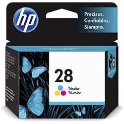 Cartucho tinta impresora HP 28