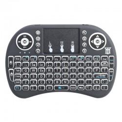Mini teclado con touchpad